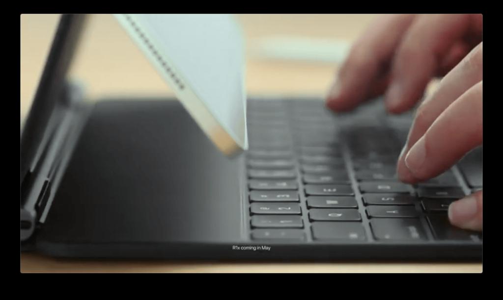 巧控鍵盤 懸浮設計