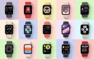 apple watch 新錶面