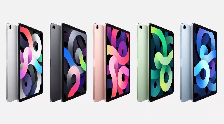 iPad Air 4 5 colors