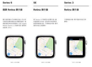 Apple Watch 螢幕