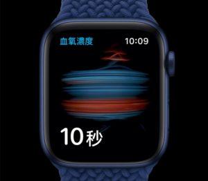 Apple watch 血氧飽和度