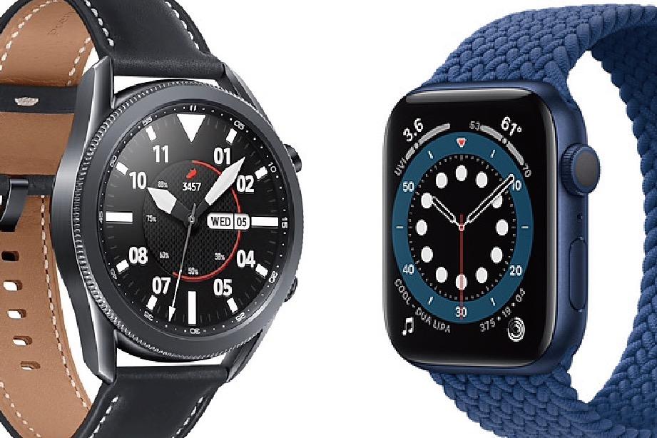 apple watch s6 vs galaxy watch 3