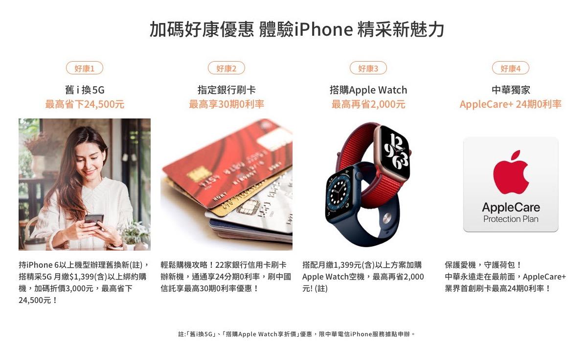 iPhone 12 中華電信優惠