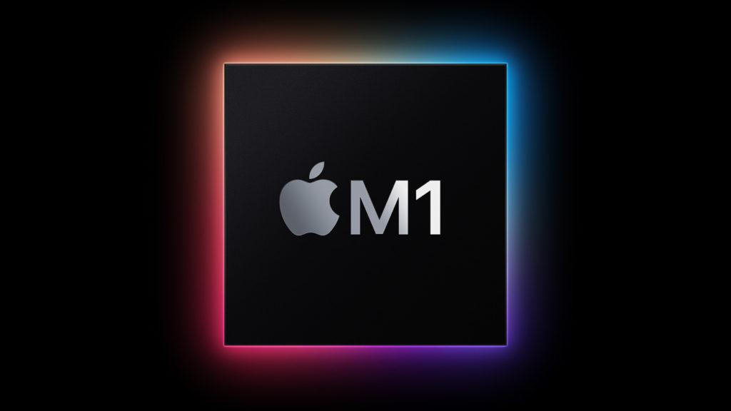Apple M1 晶片登場