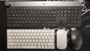 logitech craft vs magic keyboard
